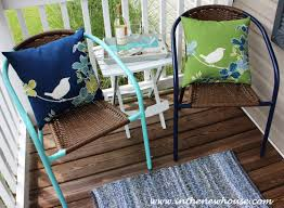 Front Patio Chairs by 40 Front Porch Makeover In The New House Designs