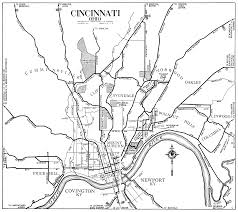 Map Of Cincinnati Ohio by Ohio City Maps At Americanroads Us