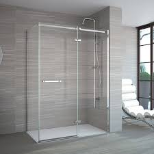 hinged glass shower door shower doors frameless hinged pivot door in decorating