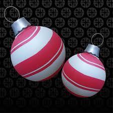 peppermint ornaments creative