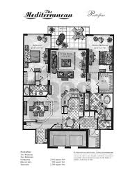 mediterranean condo floor plans daytona beach condominiums
