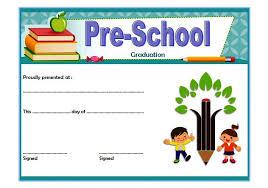 preschool graduation certificate preschool graduation certificate template 5 ss the best template