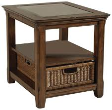 End Tables Living Room Magnussen Rectangular End Table Standard End Table Height