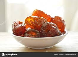 jujube en cuisine jujube coating syrup on cup stock photo