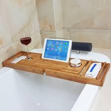 umbra aquala bathtub caddy best honana bx expandable bamboo bath caddy wine glass holder tray