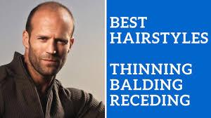 best men u0027s hairstyles for thinning hair balding hair or receding