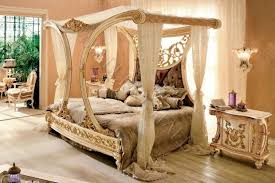 Royal Bedroom Set by Hermoso Royal Golden Cleopatra Dosel Cama Cristales De Caoba