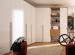 Wardrobe Designs In Bedroom Indian by Minimalist White Door Wooden Wardrobe With Cool White Cycling
