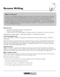 Example Of An Excellent Resume by Sample Targeted Resume Resume Cv Cover Letter Targeted Resume