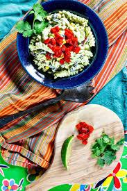 mexican green goddess pasta salad vegan optional