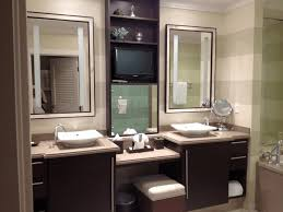 bathroom furniture ideas bathroom vanity decorating ideas beige colored marble flooring