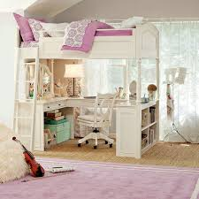 girls loft bed with a desk and vanity how really terrific loft bed with vanity and desk for kids smarter