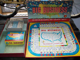 big business 1954 vintage game pieces 1950 u0027s collectible game