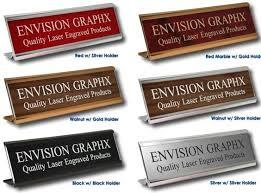 Cheap Desk Name Plates Custom Engraved Wall Door Desk Name Plate Sign Buy Desk