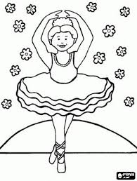 beautiful ballet positions coloring pages photos printable