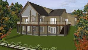 walkout ranch house plans basement house plans with walkout basement on side in the best house