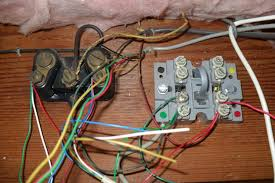 how to organize an old telephone home wiring block