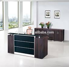 L Shaped Salon Reception Desk Simple Design Reception Desk Display Case China Supply L Shaped