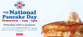 Get Free Pancakes At Participating Expired Free Pancakes At Ihop 02 27 7am Until 7pm Of Credit