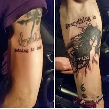 happiness quote tattoo ideas berserk tattoo