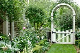cottage garden ideas in beatiful and perfect decoration completed