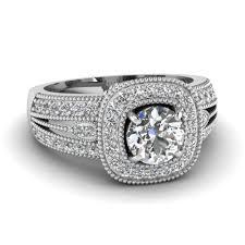 round cut square art deco diamond vintage and antique engagement