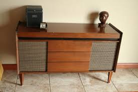 Mid Century Record Cabinet by Vintage Stereo Cabinet With Turntable Roselawnlutheran