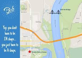 Omaha Nebraska Map Bob The Bridge