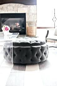 small round tufted ottoman fancy round tufted ottoman coffee table tufted storage ottoman