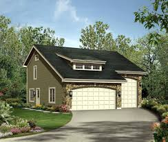Two Car Garage Plans by Independent And Simplified Life With Garage Plans With Living
