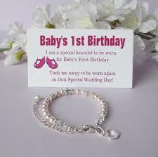 baby s 1st birthday baby s 1st birthday gift bracelet baby to growing