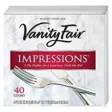 Cancel Vanity Fair Subscription Vanity Fair Impressions Napkins 960 Ct Target