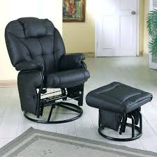 Fabric Glider Recliner With Ottoman Fabric Glider Recliner With Ottoman Medium Image For Design Ideas