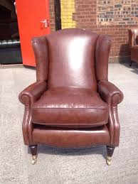 Laura Ashley Armchair Original Leather Laura Ashley Southwold Wing Back Chair Rrp 1050