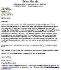 best cover letter for hr administrator shishita world com