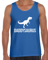 top s day gifts men s daddysaurus cool tank tops s day gift saur