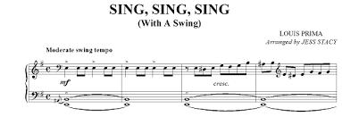 sing sing sing with a swing louis prima sing sing sing with a swing el rinc祿n de swing