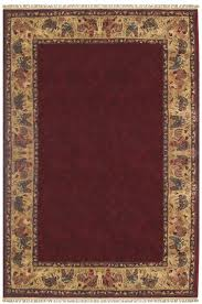 american home rug co chicken and rooster hand tufted burgundy