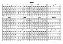 2016 yearly calendar template 09 free printable templates pictures