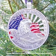 united in memory september 11th ornament mail order white house
