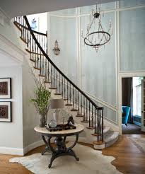 how to decorate curved staircase wall staircase traditional with
