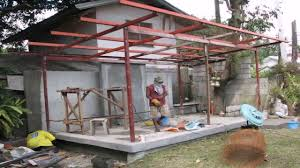 shed roof house house roof design in philippines youtube