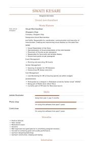Resume For Retail Merchandiser Visual Merchandiser Resume Samples Visualcv Resume Samples Database