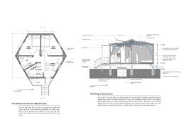 architectural design home plans hex house is an affordable and rapidly deployable solar home for