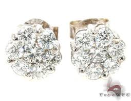 diamond earrings on sale vs1 cut stud earring diamond earrings for men white gold 14k