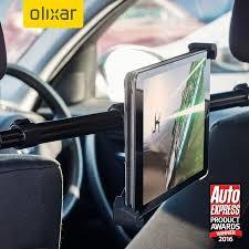 support tablette voiture entre 2 sieges support voiture universel tablette pour appui tête olixar