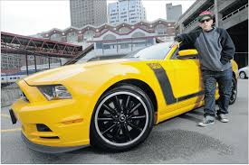Mustang Boss Horsepower Musician Madchild Shane Bunting Who Performs With Hip Hop Band