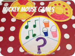 Minnie Mouse Halloween Birthday Party by Mickey And Minnie Party Games Coffee Cups And Crayons