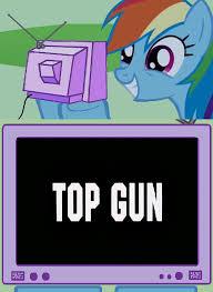 Top Gun Hat Meme - rainbow dash meme top gun by joezilla1991 on deviantart