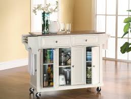 furniture black wooden kitchen cart with rectangle grey marble